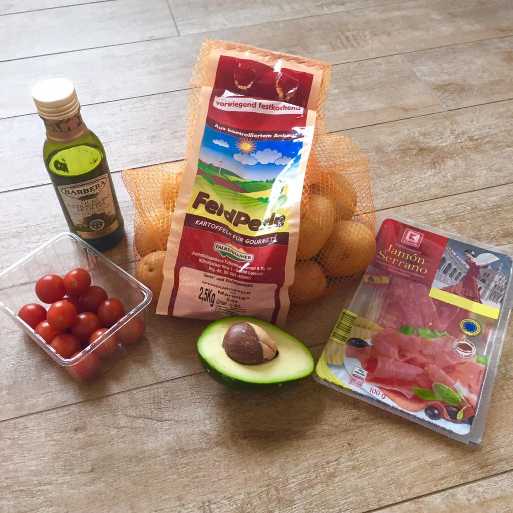 Kartoffel-Avocado-Salat Zutaten