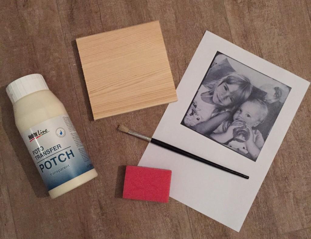 Fotos auf Holz übertragen