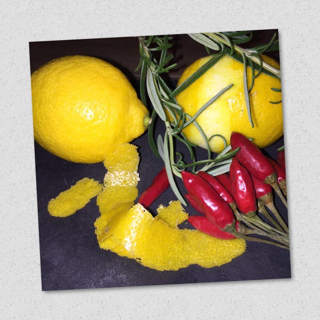 DIY Zitronen-Öl